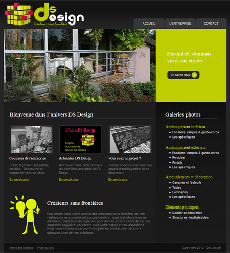 DS Design site version 2013